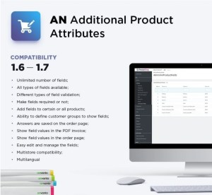 Read more about the article Additional Product Attributes 2.6.0  – Custom Product Fieldsmodule