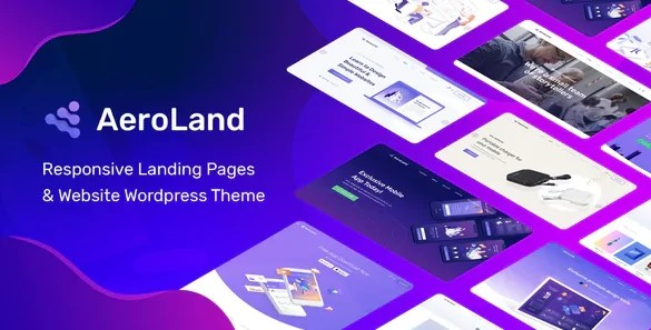 You are currently viewing AeroLand 1.4.0 – App Landing Software Website WordPress Theme