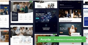 Read more about the article Avante 2.3.5 NULLED – Business Consulting WordPress
