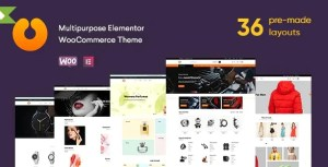 Read more about the article Cerato 2.2.6 – Multipurpose Elementor WooCommerce Theme