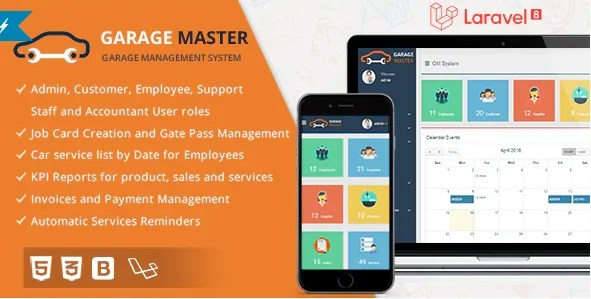 You are currently viewing Garage Master 1.2.1 NULLED – Garage Management System