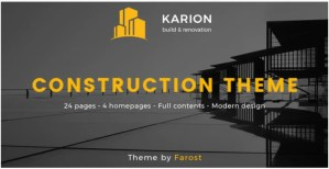 Read more about the article Karion 2.0 – Construction & Building WordPress Theme