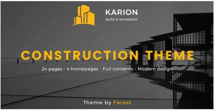 You are currently viewing Karion 2.0 – Construction & Building WordPress Theme