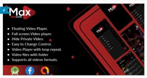 Read more about the article MAX Video Player 1.0 – Android Video Player With AdMob