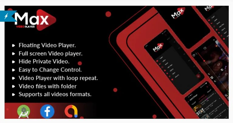 You are currently viewing MAX Video Player 1.0 – Android Video Player With AdMob