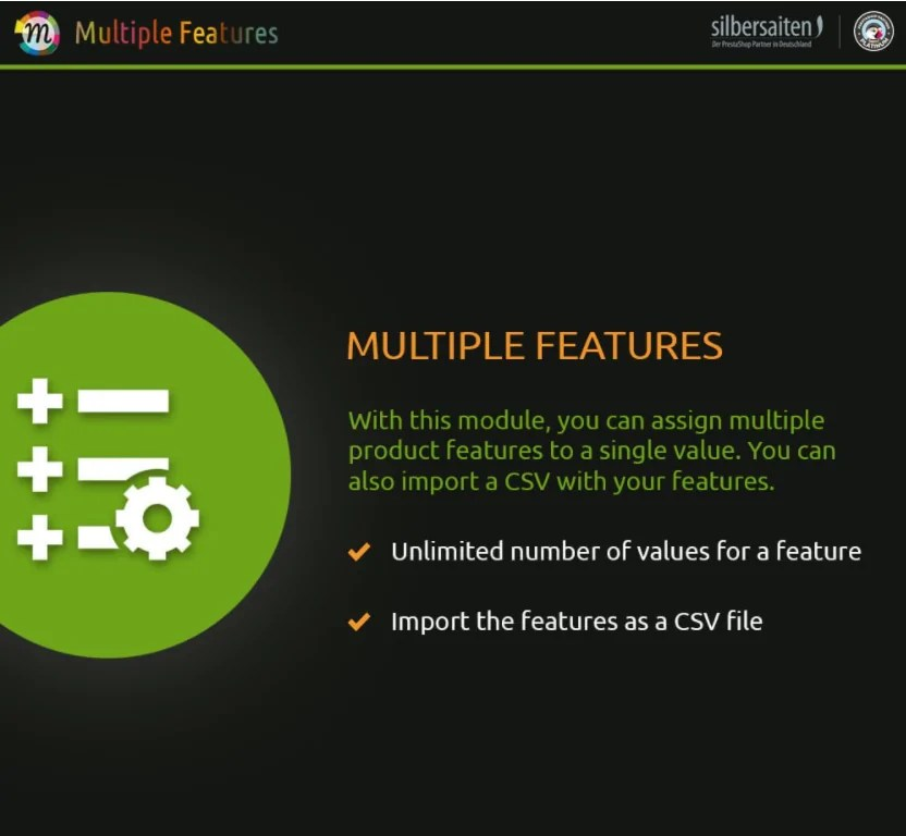 You are currently viewing Multiple Product Features 1.4.15 module incl. Features Import