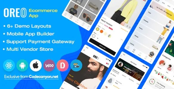 You are currently viewing Oreo Fashion 2.5.1 – Full React Native App for Woocommerce