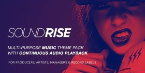 Read more about the article SoundRise 1.5.7 – Record Labels WordPress Theme
