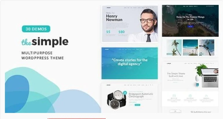 You are currently viewing The Simple 2.7.1 – Business WordPress Theme