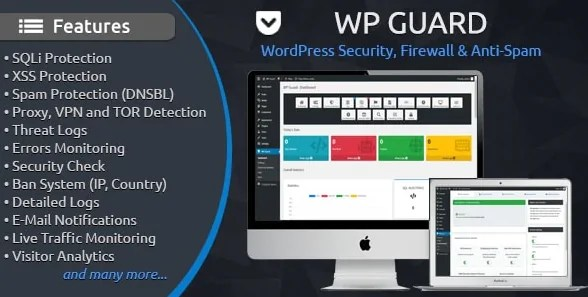 You are currently viewing WP Guard 1.8 – Security, Firewall & Anti-Spam plugin for WordPress