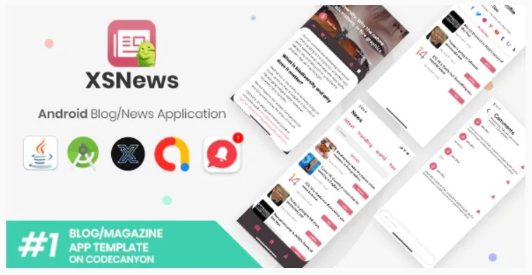 You are currently viewing XSNews 1.0 – Android News/Blog Multipurpose Application