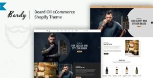 Read more about the article Bardy 2.2.1 – Beard Oil Shopify Theme
