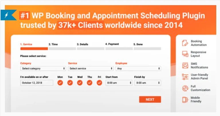 You are currently viewing Bookly PRO 20.1 Nulled +Addons – Best Booking and Scheduling WP Plugin