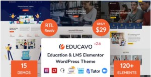 Read more about the article Educavo 2.7.2 – Online Courses & Education WordPress Theme