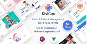 Read more about the article KiviCare 1.4.2 – Medical Clinic & Patient Management WordPress Theme