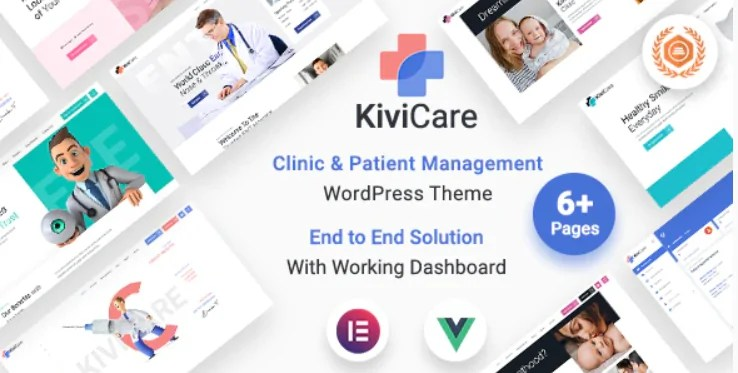 You are currently viewing KiviCare 1.4.1 – Medical Clinic & Patient Management WordPress Theme