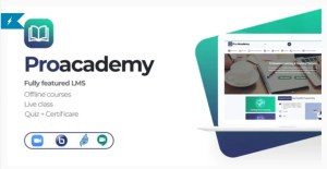 Read more about the article Proacademy 2.7 – LMS & Live Classes Marketplace