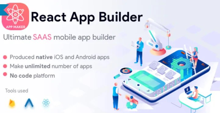 You are currently viewing React App Builder 13.5.0 – SaaS – Unlimited number of apps