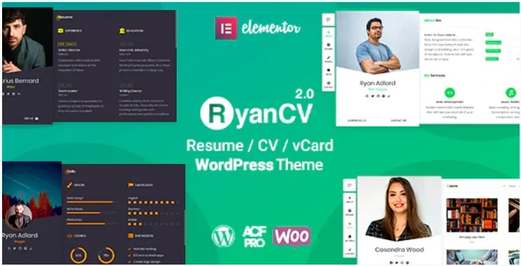 You are currently viewing RyanCV 2.0.7 – WordPress Business Card Website Template
