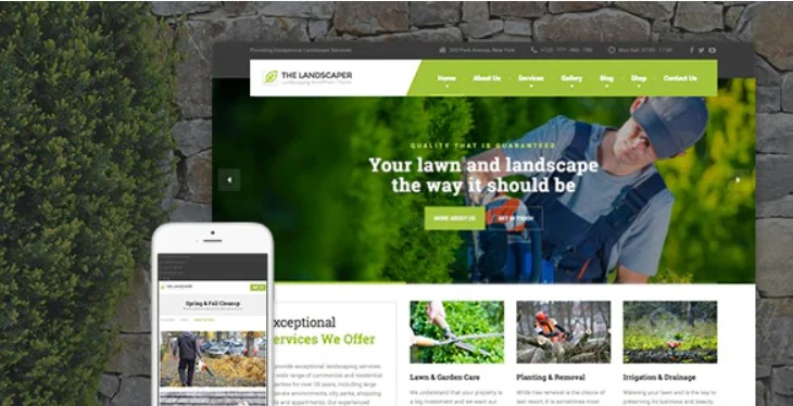 You are currently viewing The Landscaper 2.6.1 – Lawn & Landscaping WP Theme