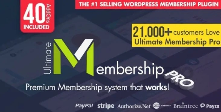 You are currently viewing Ultimate Membership Pro 10.0 NULLED – WP Membership Plugin
