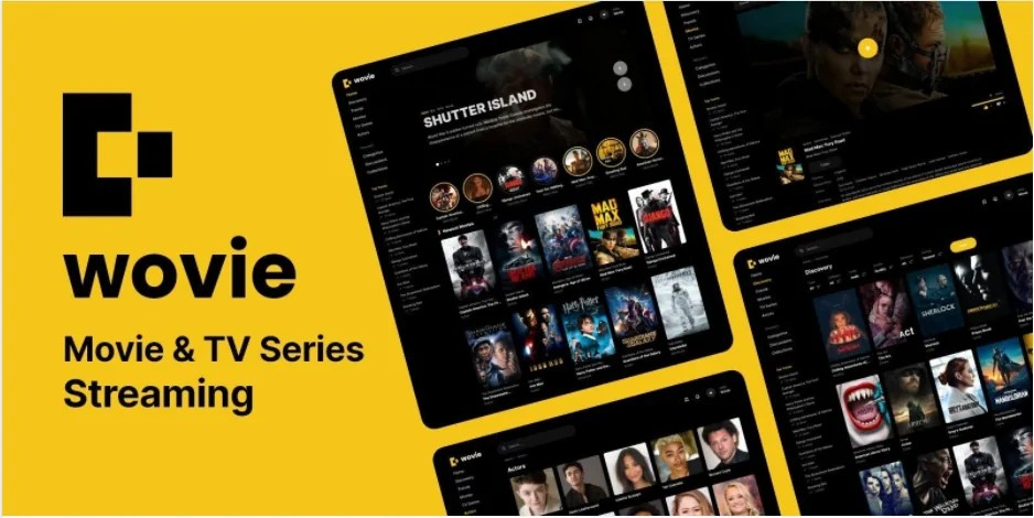 You are currently viewing Wovie 1.0.2 – Movie and TV Series Streaming Platform