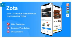 Read more about the article Zota 1.0.6 – Elementor Multi-Purpose WooCommerce Theme
