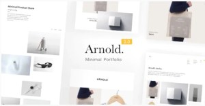 Read more about the article Arnold 2.1.0 – Lightweight WordPress Portfolio Template