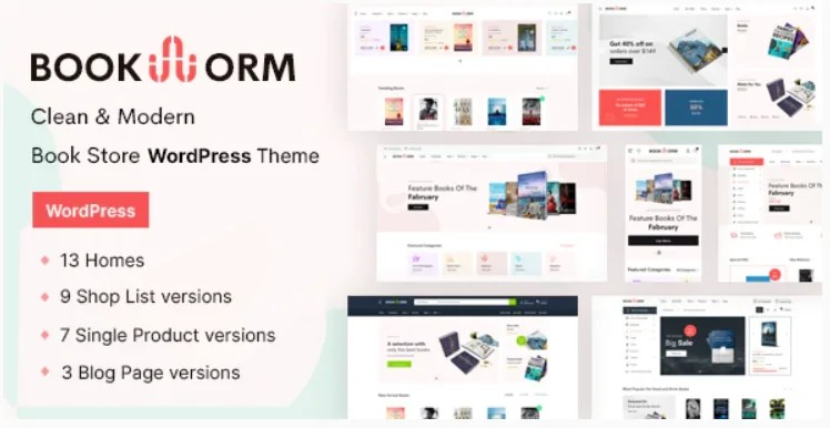 You are currently viewing Bookworm 1.0.6 – Bookstore & Bookshop WooCommerce Theme