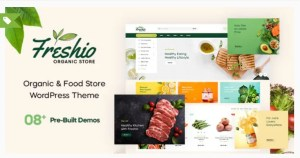 Read more about the article Freshio 1.9.2 – Organic & Food Store WordPress Theme