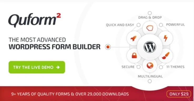 You are currently viewing Quform 2.14.0 Nulled – WordPress Form Builder