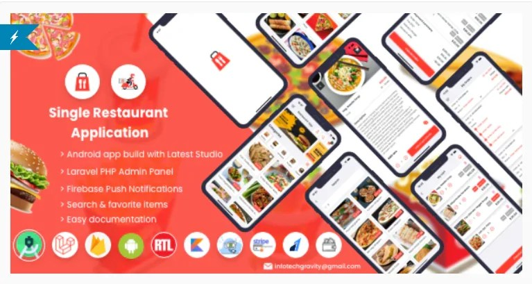 Read more about the article Single Restaurant 5.0 Nulled – Android User & Delivery Boy Apps