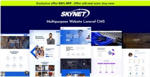 Read more about the article Skynet 3.4.1 Nulled – Multipurpose Laravel CMS