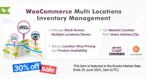 Read more about the article WooCommerce Multi Locations Inventory Management 1.2.13 Nulled