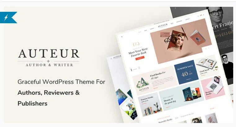 You are currently viewing Auteur 4.7 – WordPress Theme for Authors and Publishers