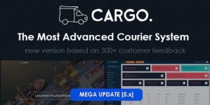 Read more about the article Cargo Pro 5.3.0 NULLED – Courier System PHP Script