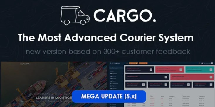 You are currently viewing Cargo Pro 5.3.0 NULLED – Courier System PHP Script