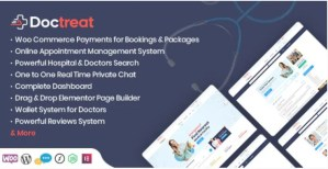 Read more about the article Doctreat 1.4.1 – Doctors Directory WordPress Theme