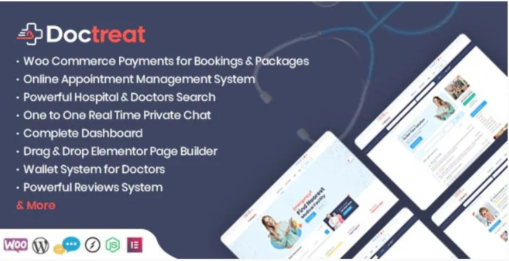 You are currently viewing Doctreat 1.4.1 – Doctors Directory WordPress Theme