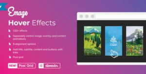 Read more about the article Emage 4.3.3 NULLED – Image Hover Effects for Elementor