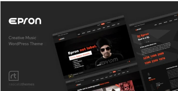 You are currently viewing Epron 2.1.0 – Music Theme for WordPress