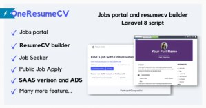 Read more about the article OneResumeCV 1.0.4 Nulled – Jobs board and resume builder
