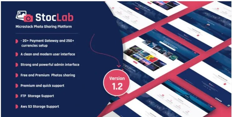 You are currently viewing StocLab 1.2 Nulled – Microstock Photo Sharing Platform