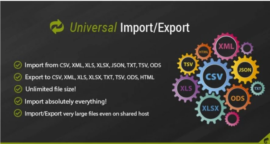 Read more about the article Universal Import / Export Pro 3.6.1 – import and export for OpenCart