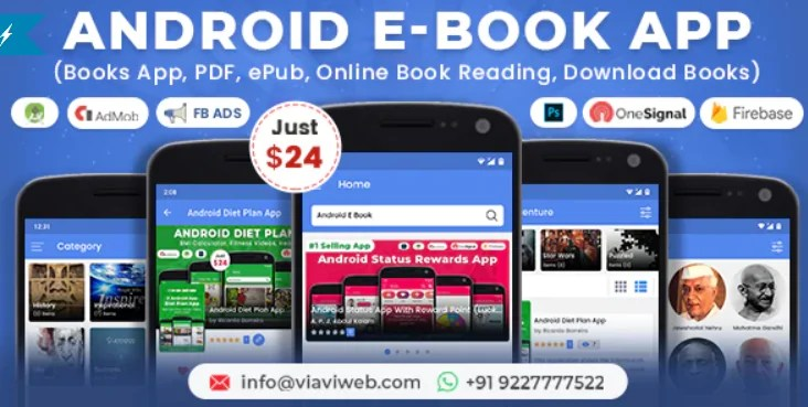 You are currently viewing Android EBook App 11.0 – Read and Download eBooks