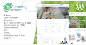Read more about the article Cleaning Services 2.2 NULLED – WordPress Theme + RTL