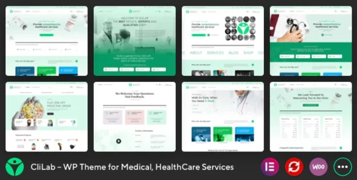You are currently viewing CliLab 1.0.0 – WP Theme for Medical, HealthCare Services