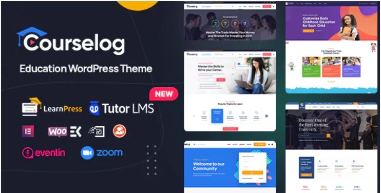 You are currently viewing Courselog 1.2.3 – Education WordPress Theme