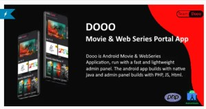 Read more about the article Dooo 1.5.0 – Movie & Web Series Portal App