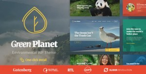 Read more about the article Green Planet 1.1.0 – Ecology & Environment WordPress Theme